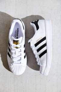Adidas Originals Black and White Superstar