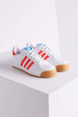 Adidas Samoa Perforated Gum Sole Sneakers